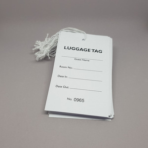 Hotel Standard Luggage Tags