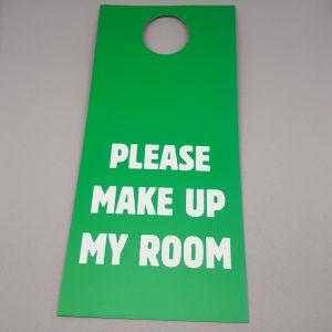 PLEASE MAKE UP MY ROOM DOOR HANGERS